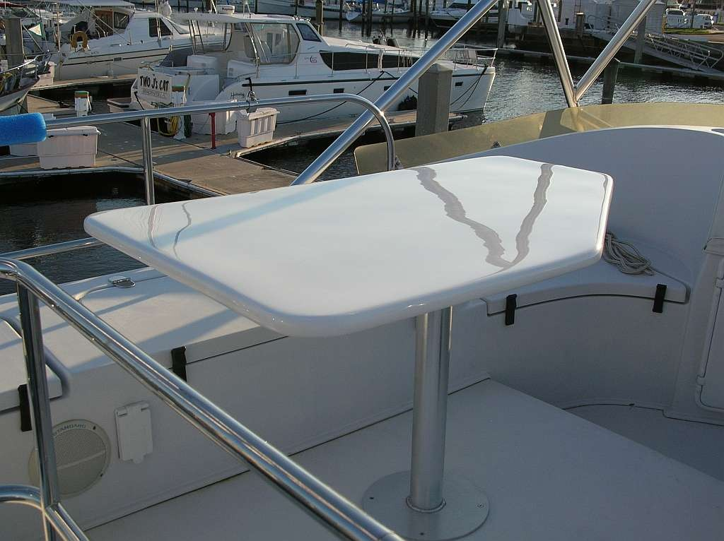 Rudder to Table -34' PDQ Powercat.